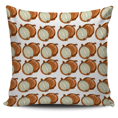 Onion Theme Pattern Pillow Cover