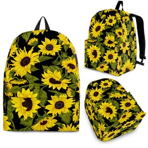 Sunflower Theme Pattern  Backpack