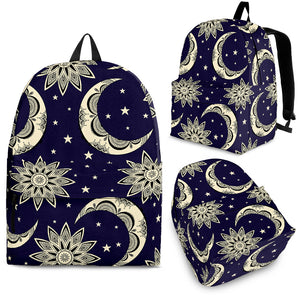 Moon Tribal Pattern Backpack