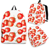 Tomato Water Color Pattern Backpack