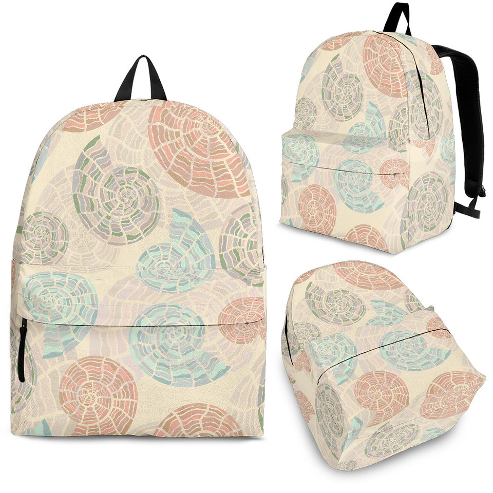 Shell Pattern Backpack
