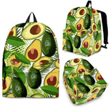Avocado Leaves Pattern Backpack