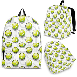 Tennis Pattern Print Design 05 Backpack