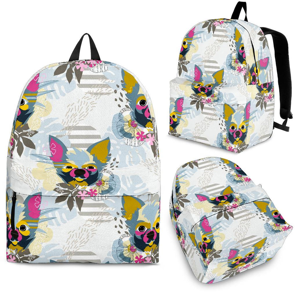 Chihuahua Pattern Backpack