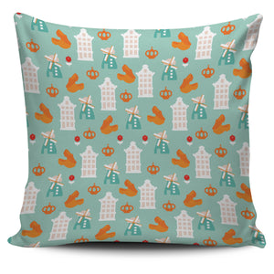 Windmill Pattern Theme Pillow Cover