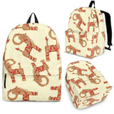 Yule Goat or Christmas goat Pattern Backpack