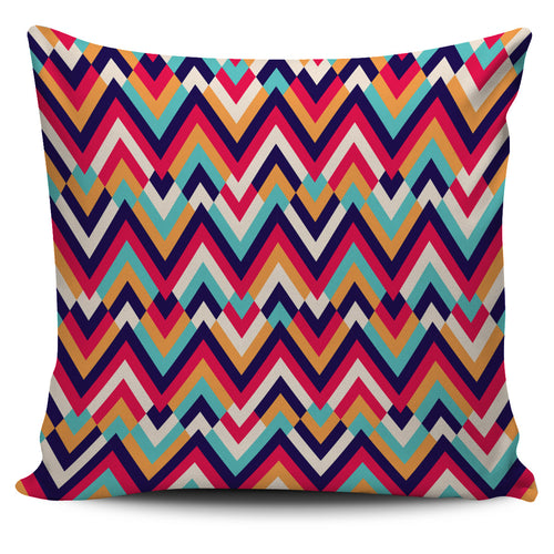 Zigzag Chevron Pattern Background Pillow Cover