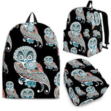Owl Tribal Pattern Backpack