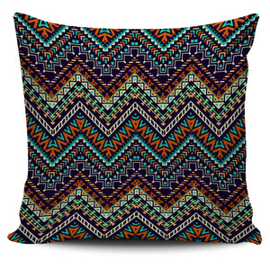 Zigzag African Afro Dashiki Adinkra Kente Pillow Cover