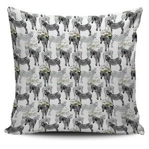 Zebra Pattern Pillow Cover
