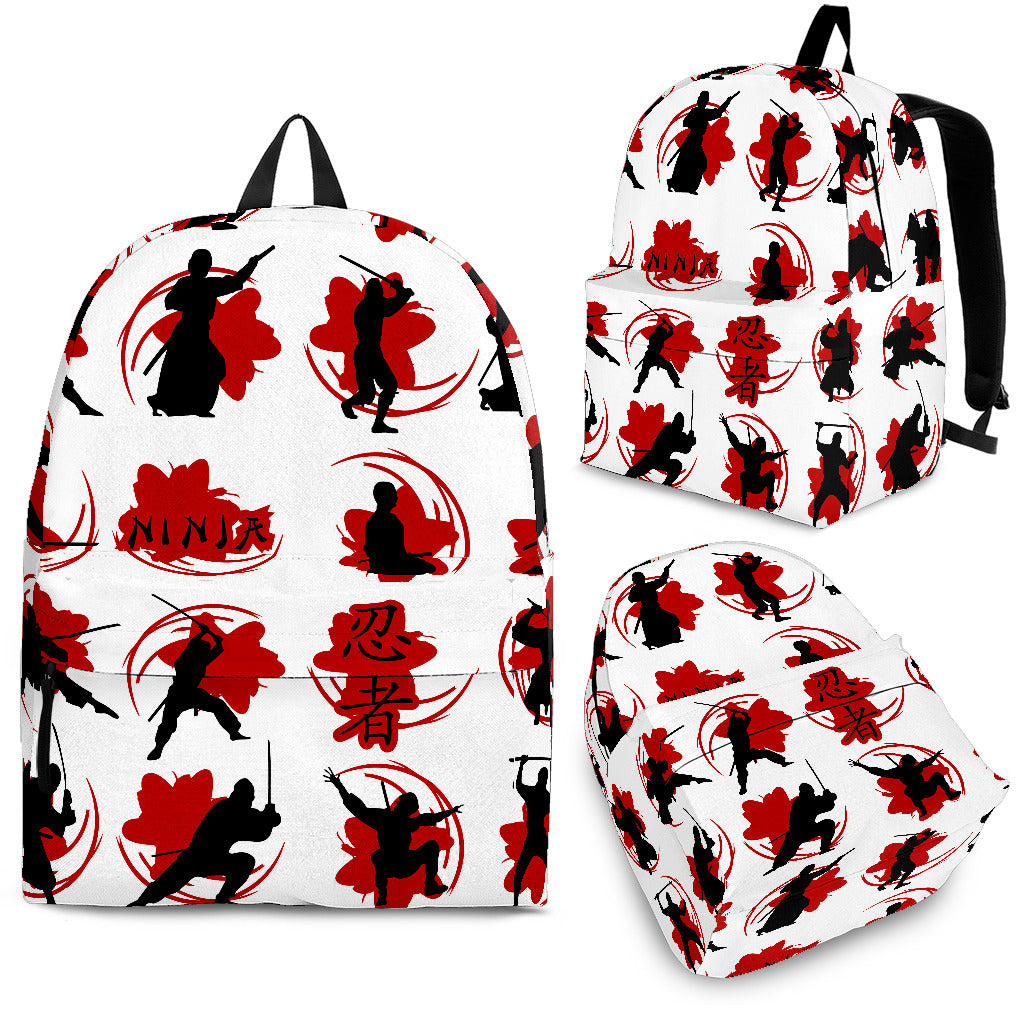 Ninja Pattern Backpack