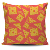 Sliced Cheese Pattern  Pillow Cover