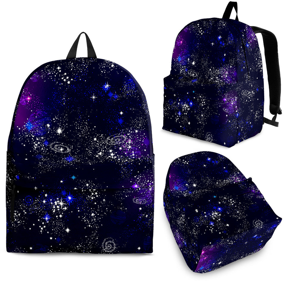 Space Galaxy Pattern Backpack