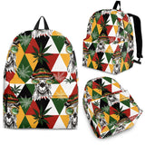 Cool Camel Leaves Pattern Backpack
