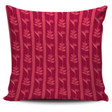 Heliconia Pink Pattern Pillow Cover