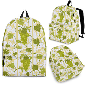 Grape Pattern Background Backpack
