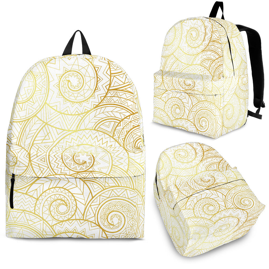 Shell Tribal Pattern Backpack
