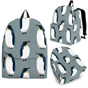 Penguin Pattern Theme Backpack