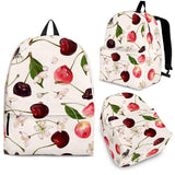 Cherry Flower Butterfly Pattern Backpack