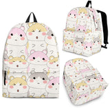 Hamster Pattern Backpack