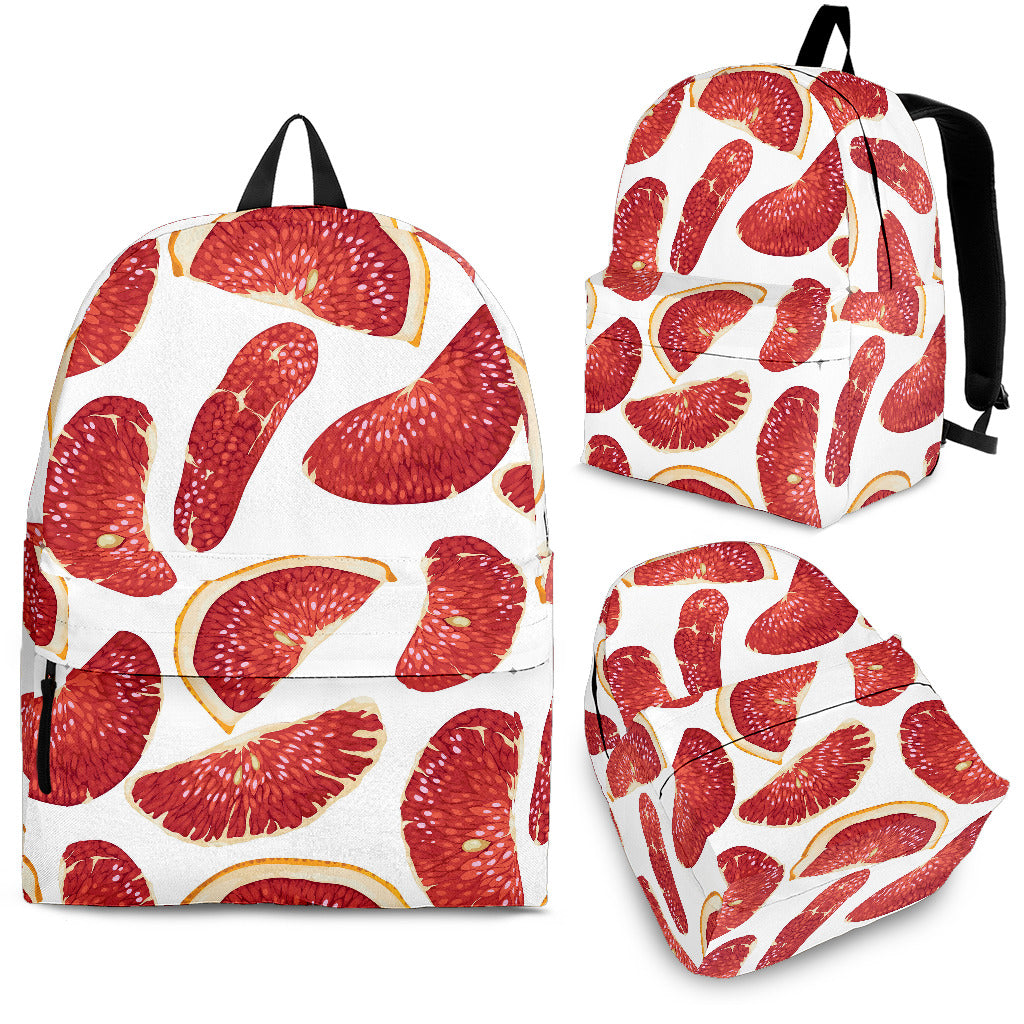 Grapefruit Pattern Backpack