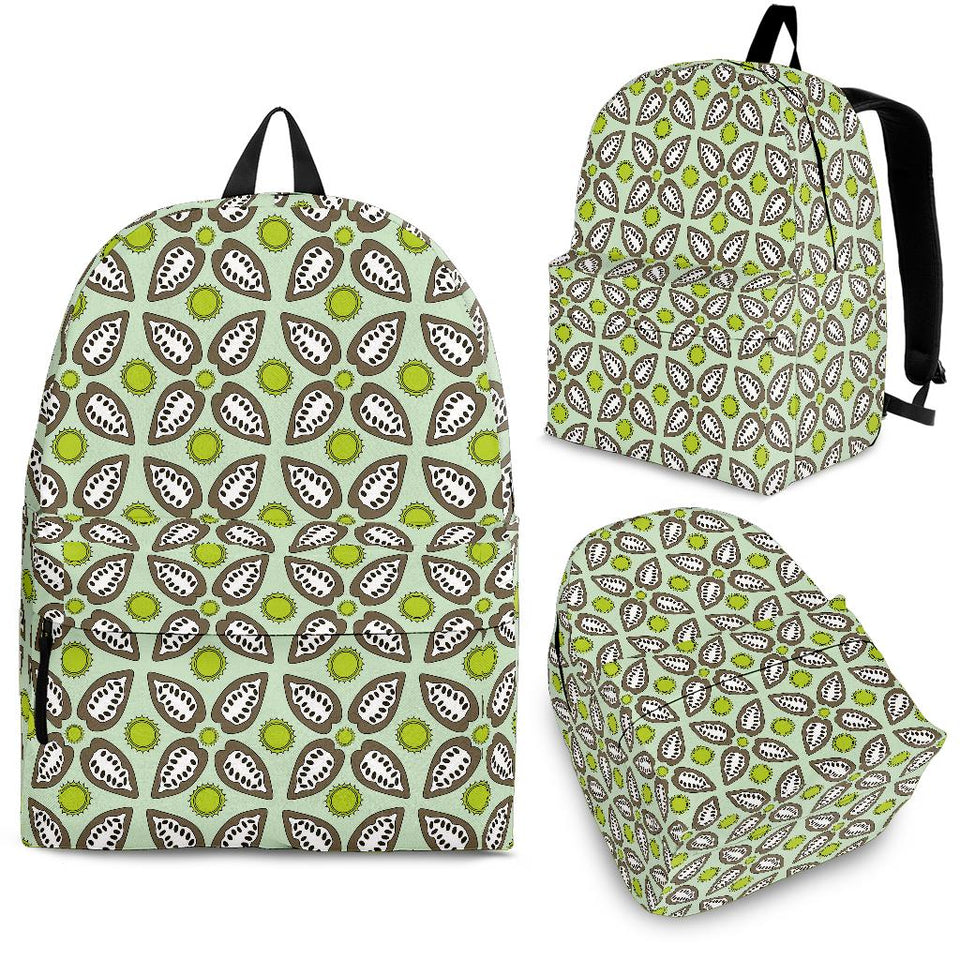Cocoa Pattern background Backpack