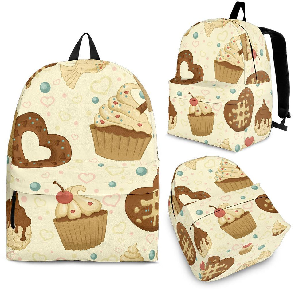 Cake Pattern Backpack