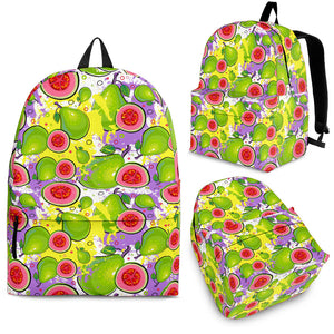 Guava Pattern Backpack
