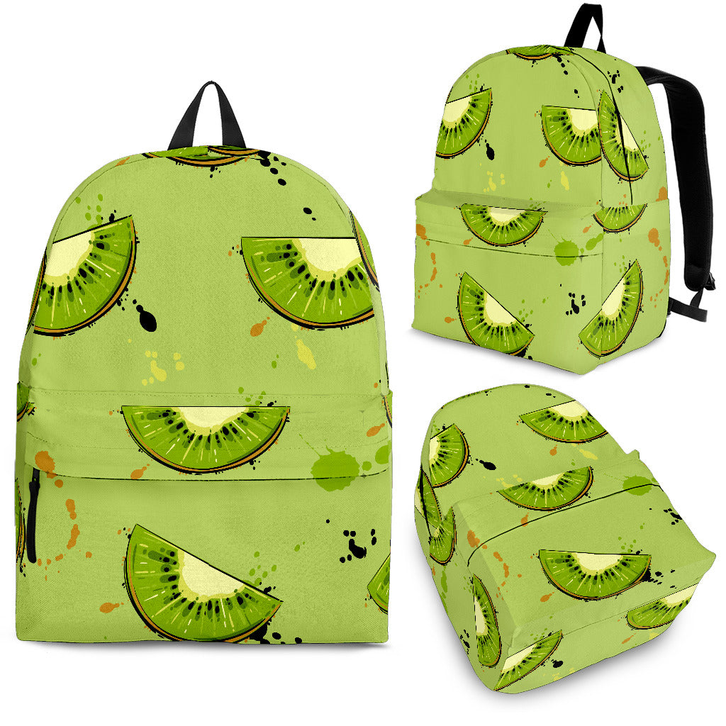 Kiwi Pattern Background Backpack