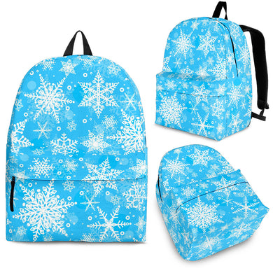 Snowflake Pattern Backpack