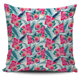 Watermelon Flower Pattern Pillow Cover