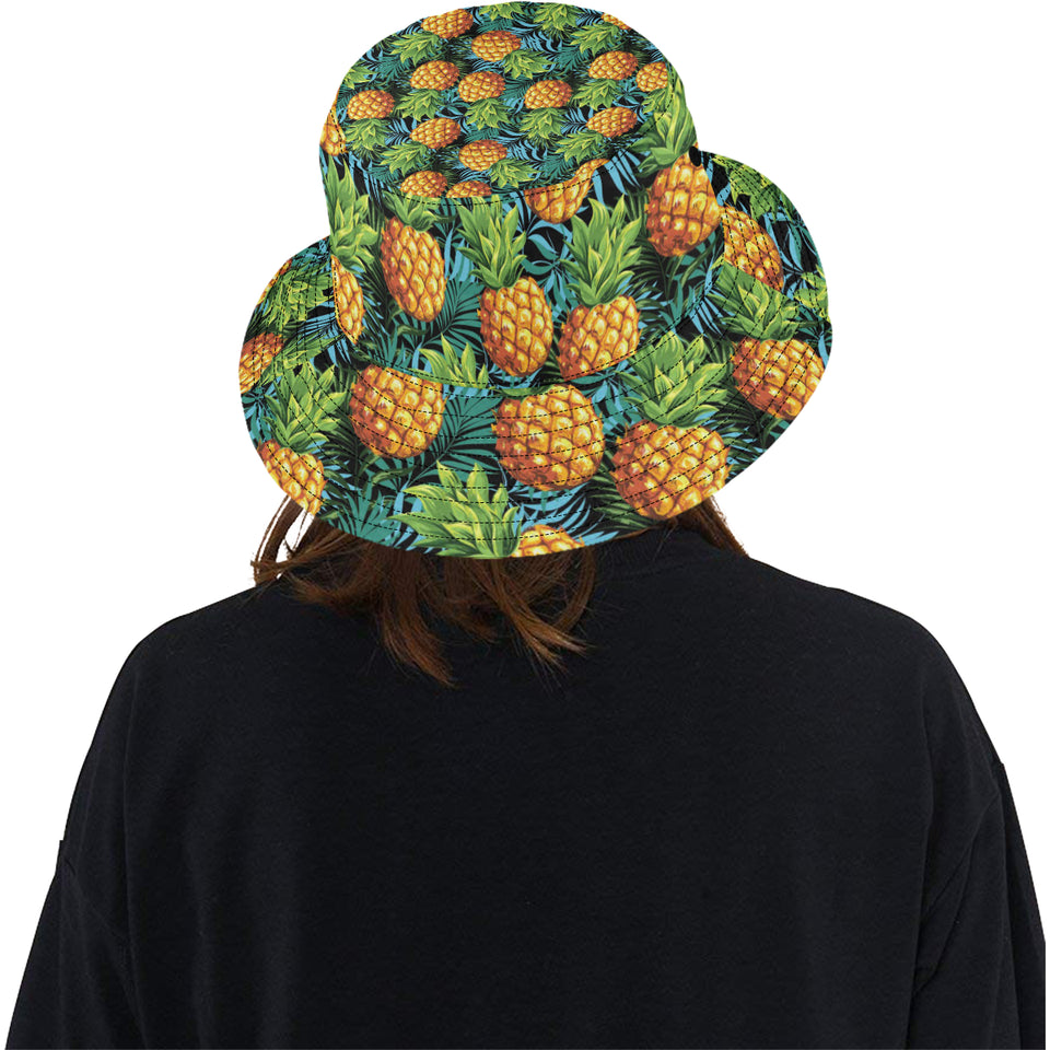 Pineapple Pattern Unisex Bucket Hat