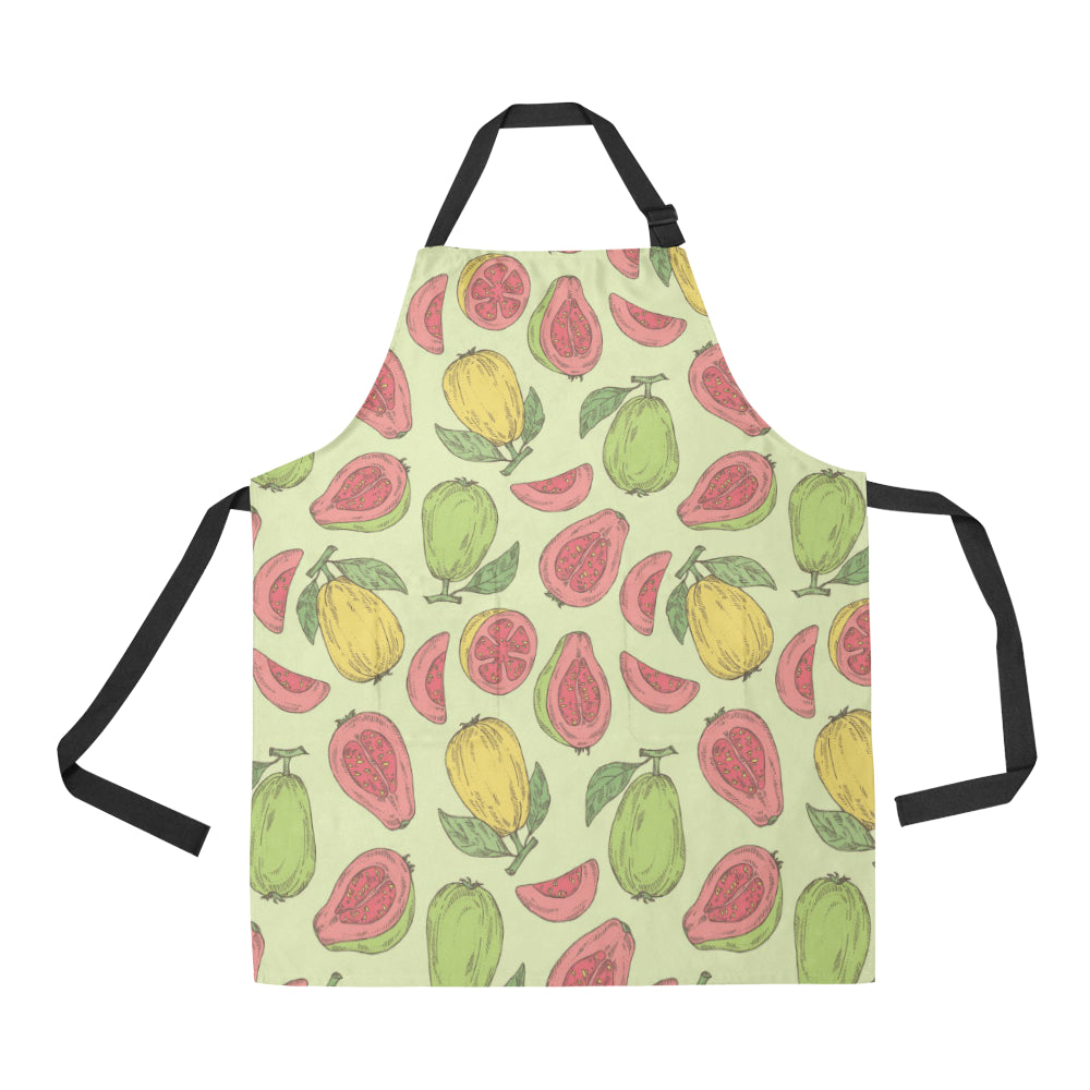 Guava Pattern Background Adjustable Apron