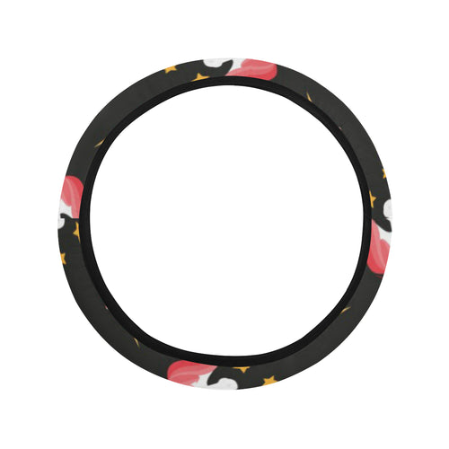Unicorn Star Pattern Car Steering Wheel Cover