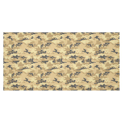 Sand Camo Camouflage Pattern Tablecloth