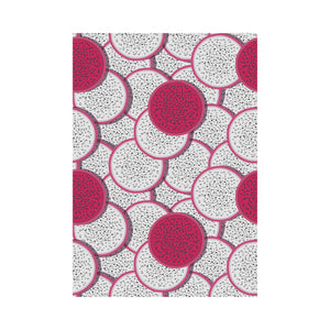 Sliced Dragon Fruit Pattern House Flag Garden Flag