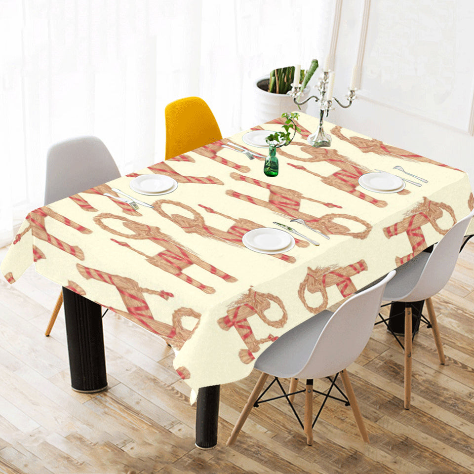 Yule Goat or Christmas goat Pattern Tablecloth