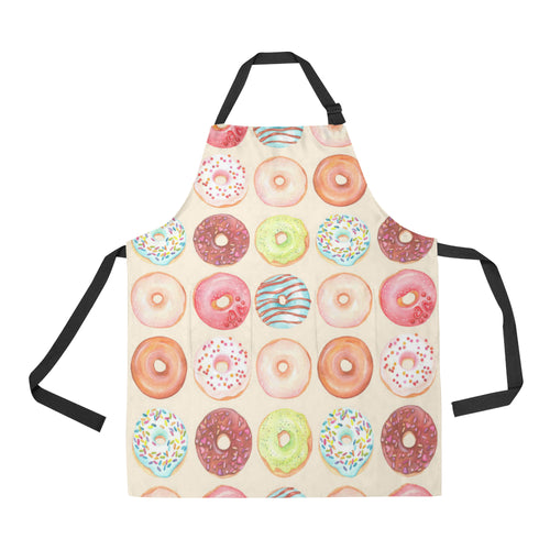 Donut Pattern Adjustable Apron
