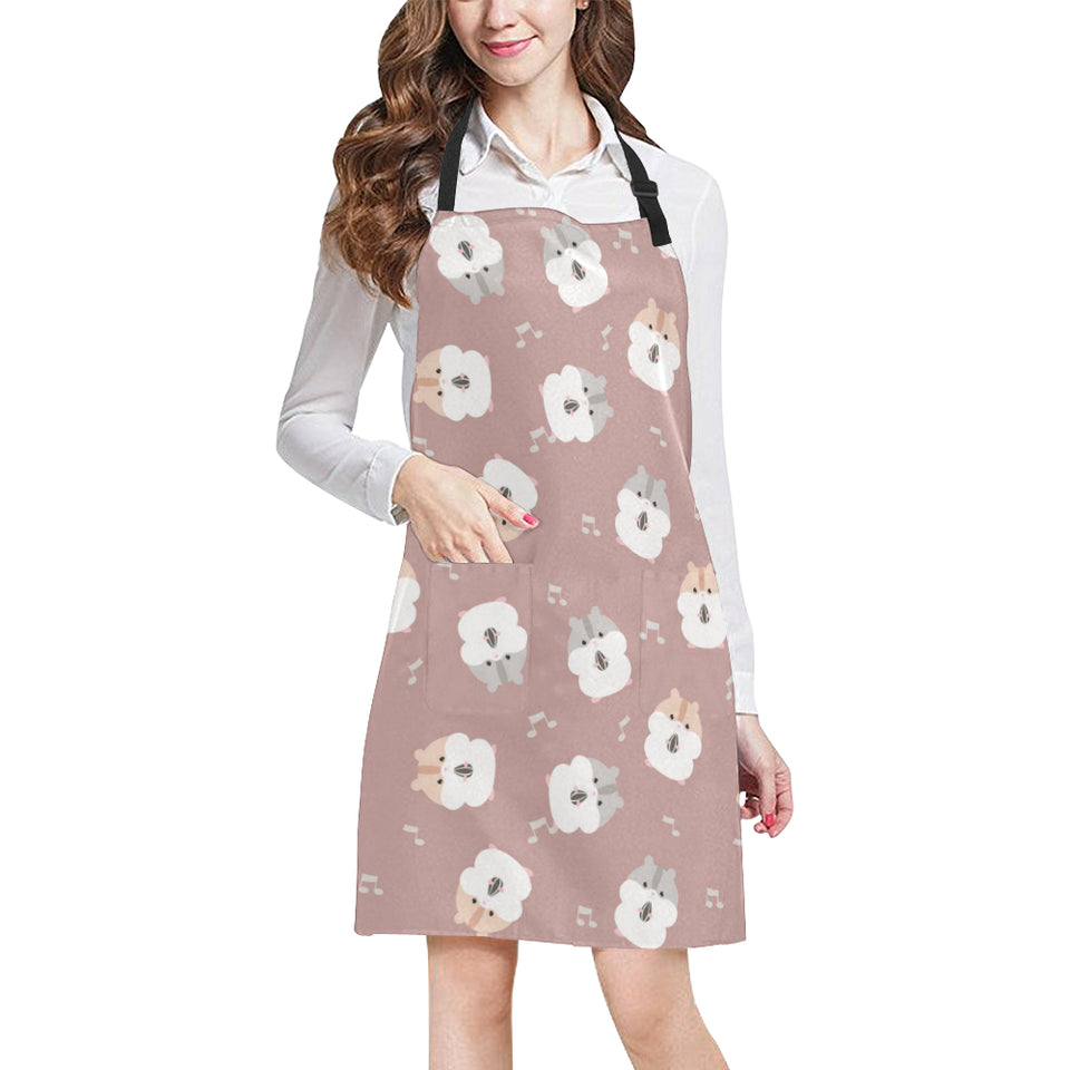 Fat Hamster Pattern Adjustable Apron