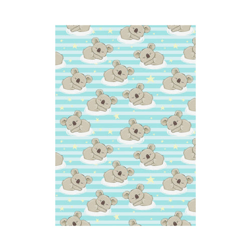 Sleep Koala Pattern House Flag Garden Flag