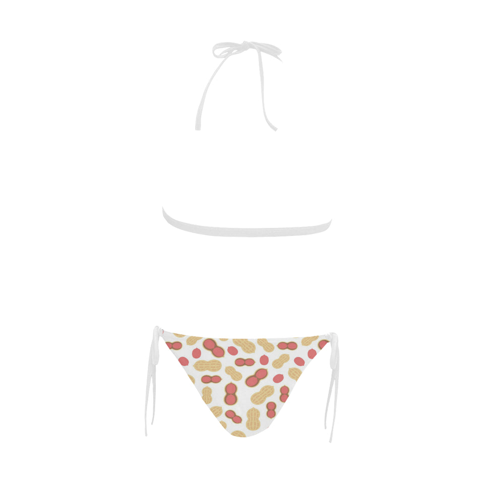 Peanut Theme Pattern Sexy Bikinis Two-Pieces Swimsuits