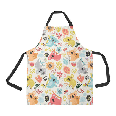 Cute Koala Pattern Adjustable Apron