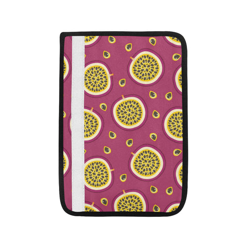 Sliced Passion Fruit Pattern Car Seat Belt Cover