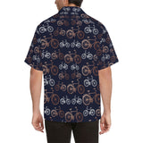 Bicycle Pattern Print Design 01 Men's All Over Print Hawaiian Shirt (Model T58)