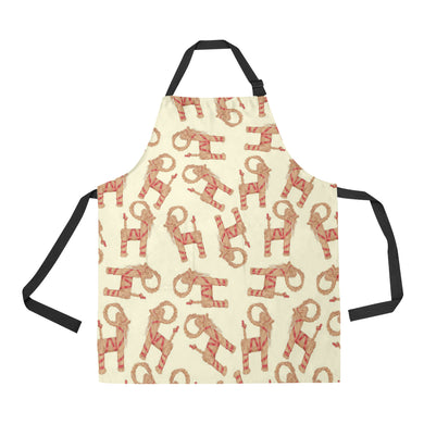 Yule Goat or Christmas goat Pattern Apron