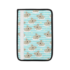 Sleep Koala Pattern Car Seat Belt Cover