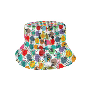 Colorful Sheep Pattern Unisex Bucket Hat