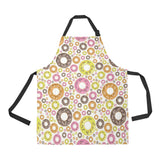 Colorful Donut Pattern Adjustable Apron