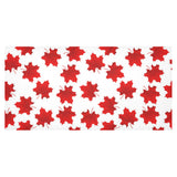Red Maple Leaves Pattern Tablecloth