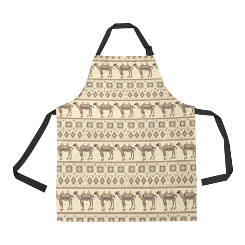 Traditional Camel Pattern Ethnic Motifs Apron